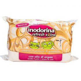 Pet Village Inodorina Refresh Salviette Detergenti Extra Gelsomino pz.40