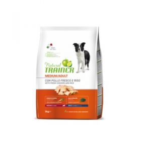 Trainer Natural Adult Cane Medium Pollo e Riso 12 Kg