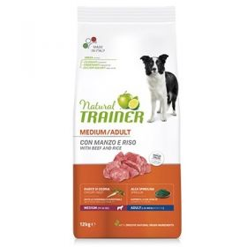 Trainer Natural Adult Cane Medium Prosciutto Crudo e Riso 3 Kg