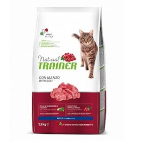 Trainer Natural Adult Gatto Manzo 1,5 kg.