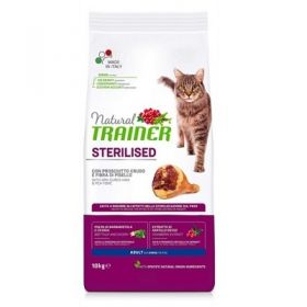 Trainer Natural Adult Gatto Sterilised Prosciutto Crudo 1,5 Kg