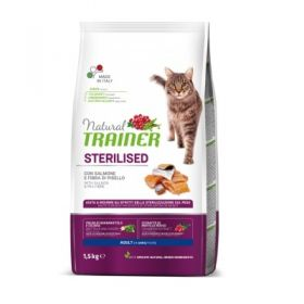 Trainer Natural Adult Gatto Sterilised Salmone 1,5 Kg