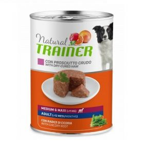 Trainer Natural Cane Adult medium & maxi con prosciutto crudo 400 Gr.