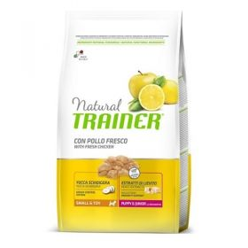 Trainer Natural Puppy & Junior Small e Toy con Pollo Fresco 2 Kg