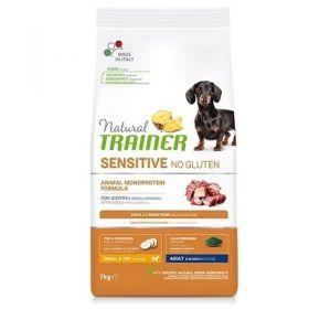 Trainer Sensitive Cane Adult no gluten Mini Anatra 7 kg