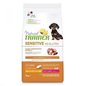 Trainer Sensitive Cane Puppy no gluten Mini Anatra 2 kg