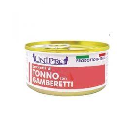 Unipro Gatto Tonno con Gamberetti 85 gr
