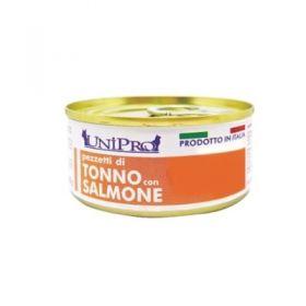 Unipro Gatto Tonno con Salmone 85 gr
