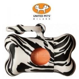 United Pets Bon Ton Jungle Dispencer per Sacchetti Zebrato