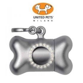 United Pets Bon Ton Nano Luxury Dispencer per Sacchetti Metal