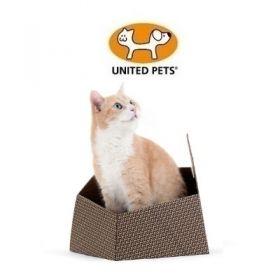 United Pets Cat in The Box Kitty Scatola in Cartone per Gatti