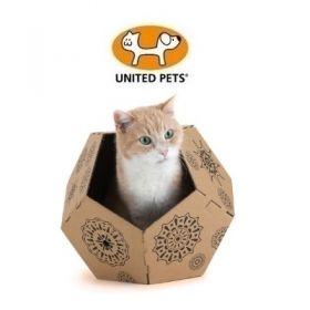 United Pets Cat in The Box Tiger Scatola in Cartone per Gatti