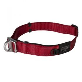 United Pets Collare Lumberjack Safety 42-66 Cm Rosso