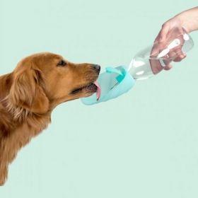 United Pets Leaf Dispencer Acqua da Viaggio in silicone Acquamare