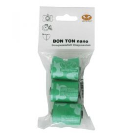 United Pets United Bon Ton Refil sacchetti igienici 3 rotoli da 10 pezzi Colore Verde