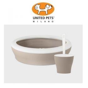 United Pets Viccì Vaschetta igienica per Gatti  Color Tortora