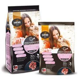Uno Di Famiglia Cibo Secco Microbiota per Cani Mini Monoproteico Sensitive Digestive 600 Gr
