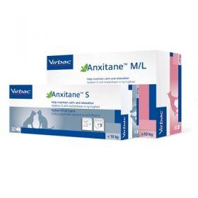 Virbac Anxitane per Cane di Taglia PIccola e Gatto 30 compresse
