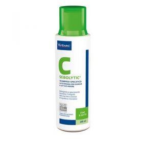 Virbac Sebolytic Shampoo per Cani e Gatti 200 ml