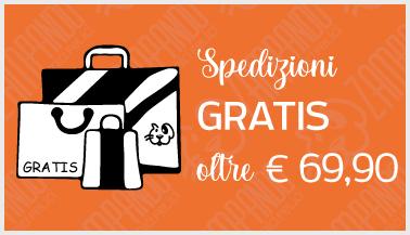 Spedizioni gratis su Zampando oltre i € 69,90
